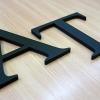 plastic decorative letters